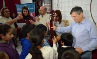 En Feliciano funciona una orquesta de música popular infantil