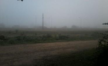 Una intensa niebla cubre el centro norte de la provincia