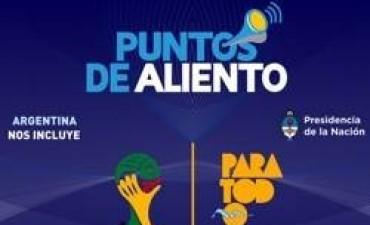 En Gualeguaychú habrá un Punto de Aliento para la selección