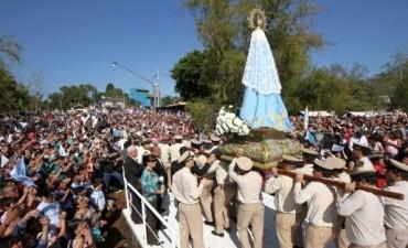 Más de 150.000 personas honraron en Corrientes a la virgen de Itatí