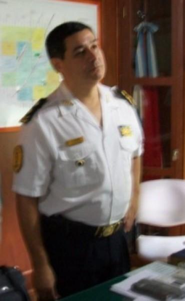 El Jefe de Policía hablo sobre el trabajo en la ciudad de Federal