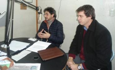 Los senadores Eduardo Taleb y Enrique Cresto dialogaron sobre política entrerriana y nacional