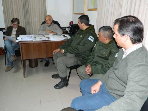 Más cámaras y el tránsito fueron los temas abordados en la reunión del Consejo de Seguridad vecinal