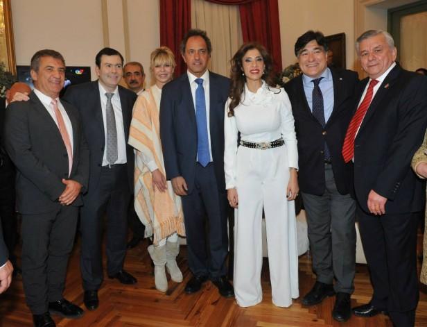 Invitado por Scioli, Urribarri estuvo en Santiago del Estero