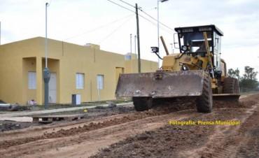 Desde el municipio priorizan obras de mantenimiento vial, iluminación y saneamiento