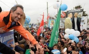 """Scioli le apuntó a la oposición: """"Somos el gran contraste con la nueva alianza"""""""
