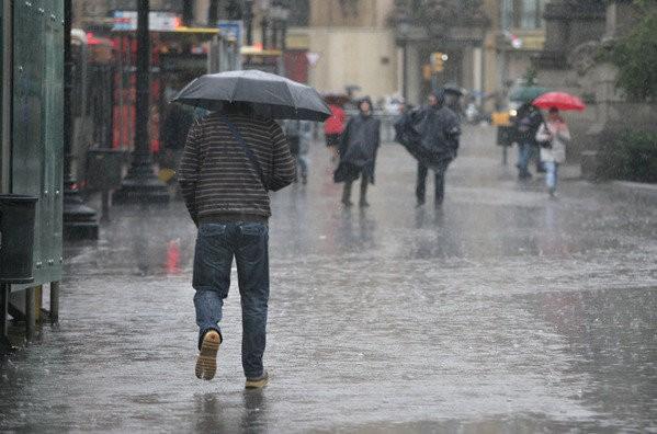 Ahora pronostican hasta 130 milímetros de lluvia