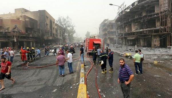Atentado de ISIS en Bagdad: 126 muertos y más de 170 heridos