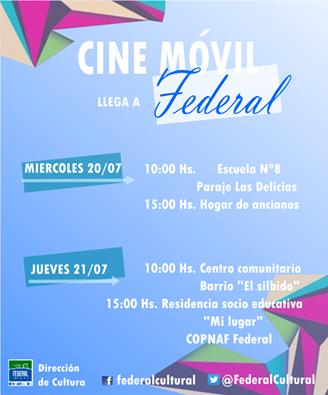 Para las vacaciones llega el Cine Móvil