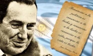 Acto aniversario de la Muerte del Gral Perón