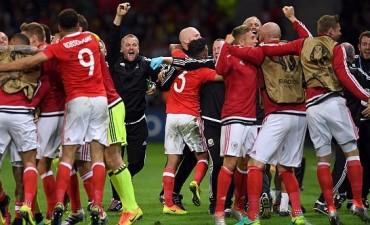 Gales se agrandó en la difícil, eliminó a Bélgica y es semifinalista