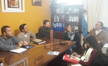 Articulan criterios con las municipalidades de Federal y Conscripto Bernardi