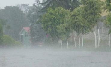Renovaron alerta por lluvias y advierten por posible caída de granizo