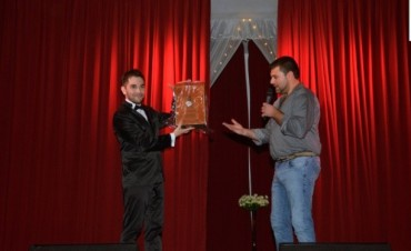 Gonzalo Foncea presento la obra