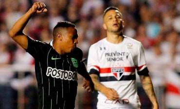 Libertadores: Atlético Nacional dio la gran sorpresa y venció de visitante a San Pablo