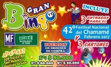 La Comisión del Festival confirmo el lanzamiento del Gran Bingo del Festival