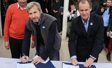 El Gobernador y Frigerio lanzaron el Plan Nacional de Hábitat en Entre Ríos