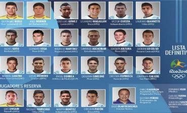 Se conoció la lista definitiva de la Selección Argentina para los Juegos Olímpicos