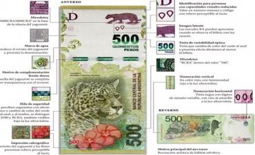 Alerta: detectaron billetes falsos de $500 en Entre Ríos
