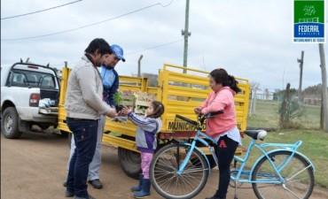 Campaña de Residuos Eléctricos y Electrónicos en Defensores del Sur
