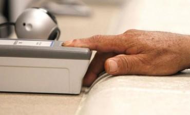 Implementan turnos online para digitalizar las huellas dactilares