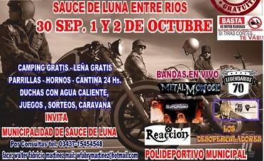 En marcha los preparativos para el 5 Moto-Encuentro de Sauce de Luna