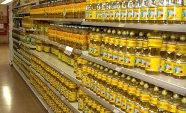 Prevén fuerte suba del aceite: La botella de litro y medio costaría 90 pesos