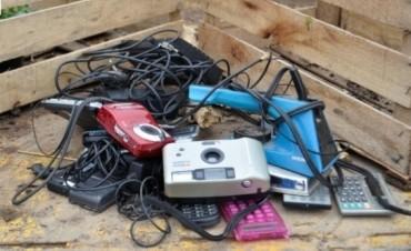Este Jueves continua la campaña de Residuos Eléctricos y Electrónicos en Barrio Parque