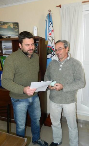 Por convenio con el Municipio el colectivo del Club Ferrocarril promocionara el Festival