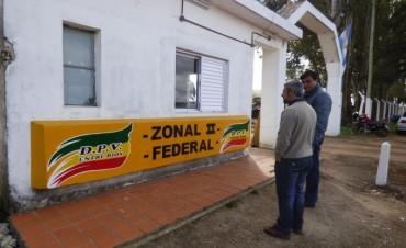 El nuevo Director de Conservación recorrió la Zonal II de Vialidad