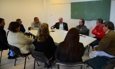 En su visita a Federal , el Ministro de Salud ratifico el respaldo al Dr Nieves al frente del Hospital Urquiza