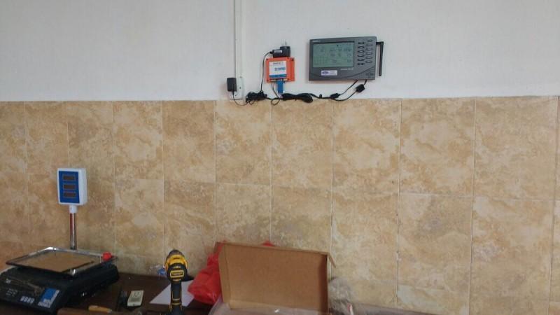 Se instaló equipamiento en Federal para reducción de riesgo por inundaciones