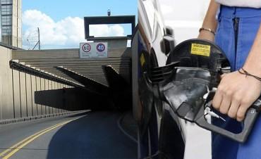 Rigen aumentos en combustibles y peajes del Túnel Subfluvial