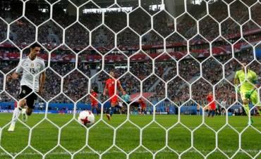 Alemania le ganó a Chile y se consagró campeón de la Copa Confederaciones