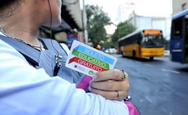 Debaten boleto de colectivo gratuito para estudiantes y docentes en todo el país