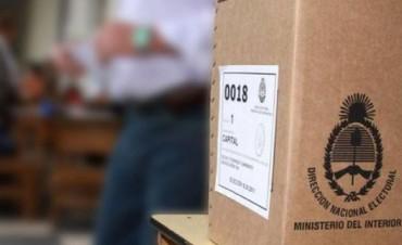 Candidatos a legisladores nacionales tendrán publicidad electoral gratuita en medios audiovisuales