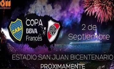 Se confirmó la fecha del Superclásico en San Juan