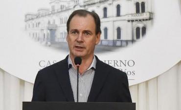 En respuesta a Frigerio, Bordet enumeró obras con financiamiento provincial