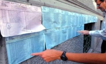 Desde el viernes se podrá consultar el padrón electoral definitivo
