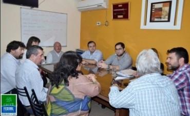 El Intendente se reunió  con la Ministra de Salud de la Provincia