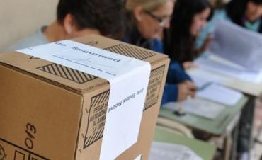 Los entrerrianos votarán en 564 escuelas. En Federal 20 para 75 mesas