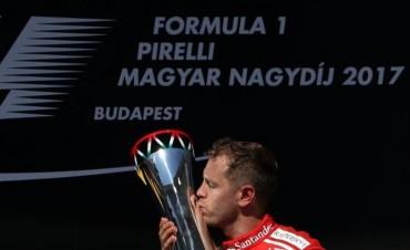 Vettel ganó el Gran Premio de Hungría y amplió su ventaja como líder del Mundial