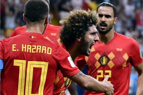 Rusia 2018: Bélgica lo dio vuelta en el último minuto, pasó a cuartos de final y jugará con Brasil