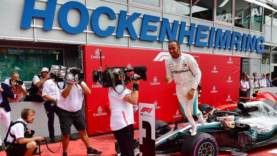 F1: Lewis Hamilton tuvo una espectacular remontada y ganó en