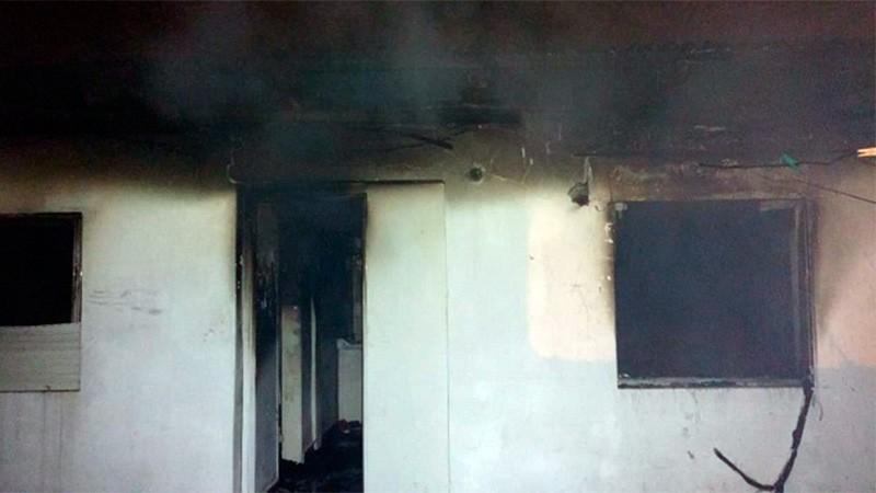 Tragedia: Un niño de dos años falleció al incendiarse una vivienda