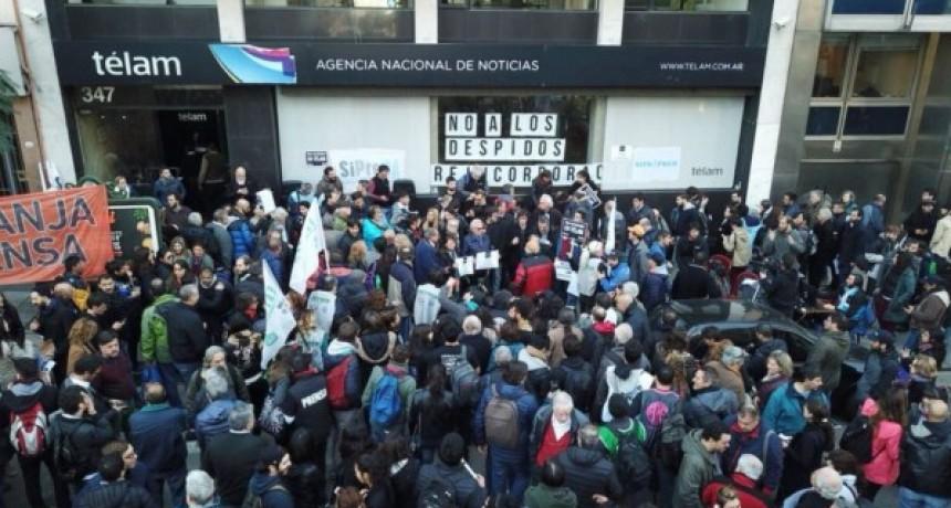 Denuncian la detención ilegal de delegados de Télam en Basavilbaso