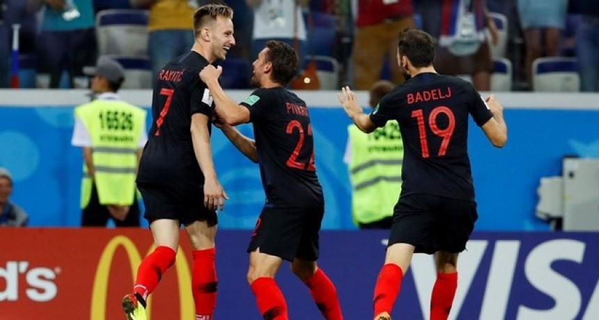 Croacia eliminó por penales a Dinamarca y sigue adelante en el Mundial