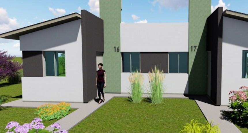 Se construirán 15 viviendas en Conscripto Bernardi con fondos provinciales