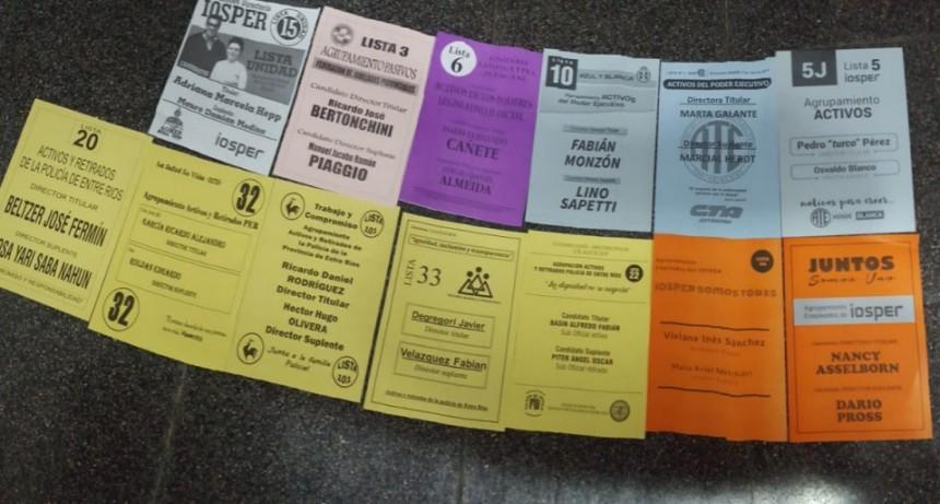 Elecciones en IOSPER: Más de 137.000 afiliados están habilitados para votar