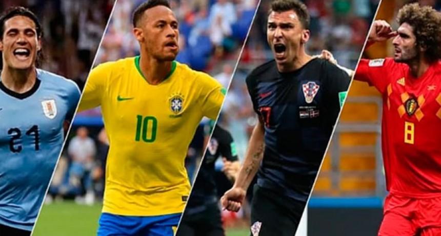Así continúa el Mundial de Rusia: días y horarios de los partidos por cuartos de final
